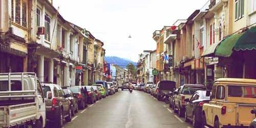Phuket Town Sino Portuguese architecture