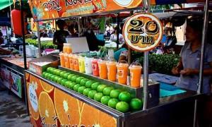 phuket fruit juice Banzaan Fresh Market
