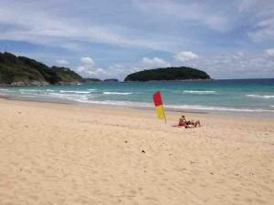 nai harn beach nai harn beach